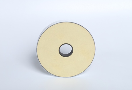 Front of Large Diameter Metrosil Silicon Carbide Disc
