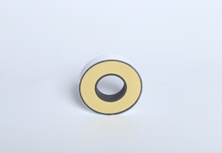 Front of Small Diameter Metrosil Silicon Carbide Disc