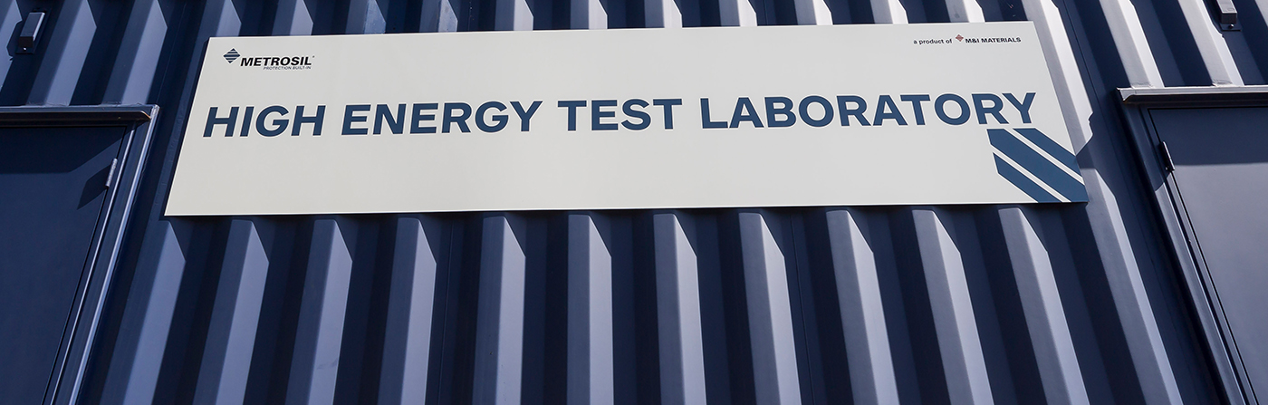 Front of Metrosil High Energy Test Laboratory